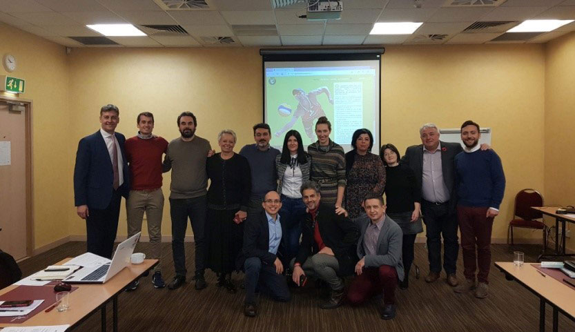 Parent Community Sports Trust (PCST) in Glasgow for the 3rd Meeting of GREEN SEAL, an Erasmus+ Sport Project - 8th November 2018